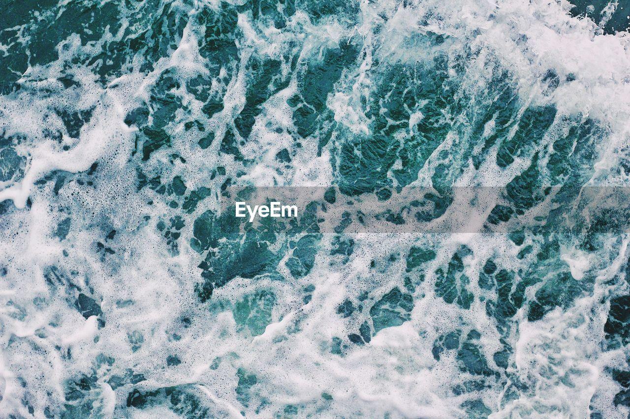 Full frame shot of waves