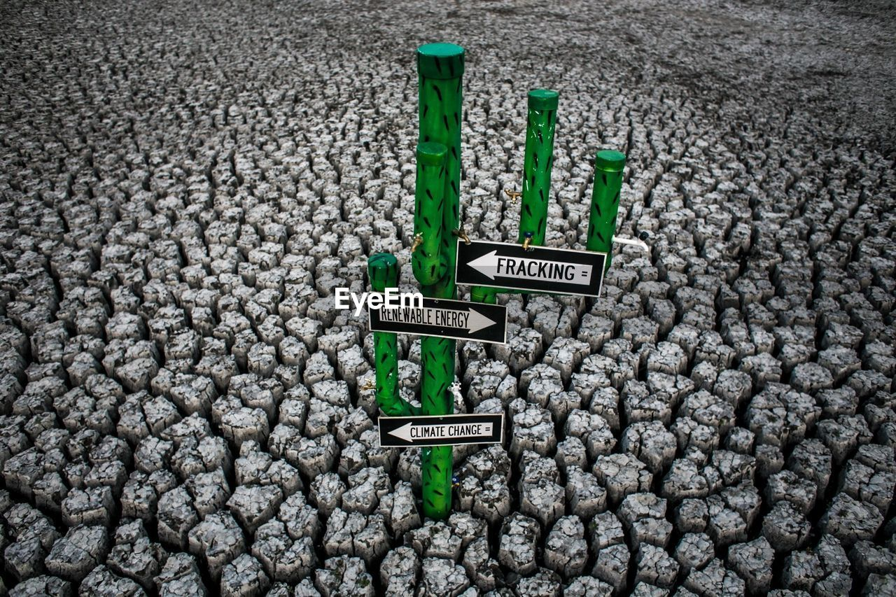 Illustrative representation about environmental awareness