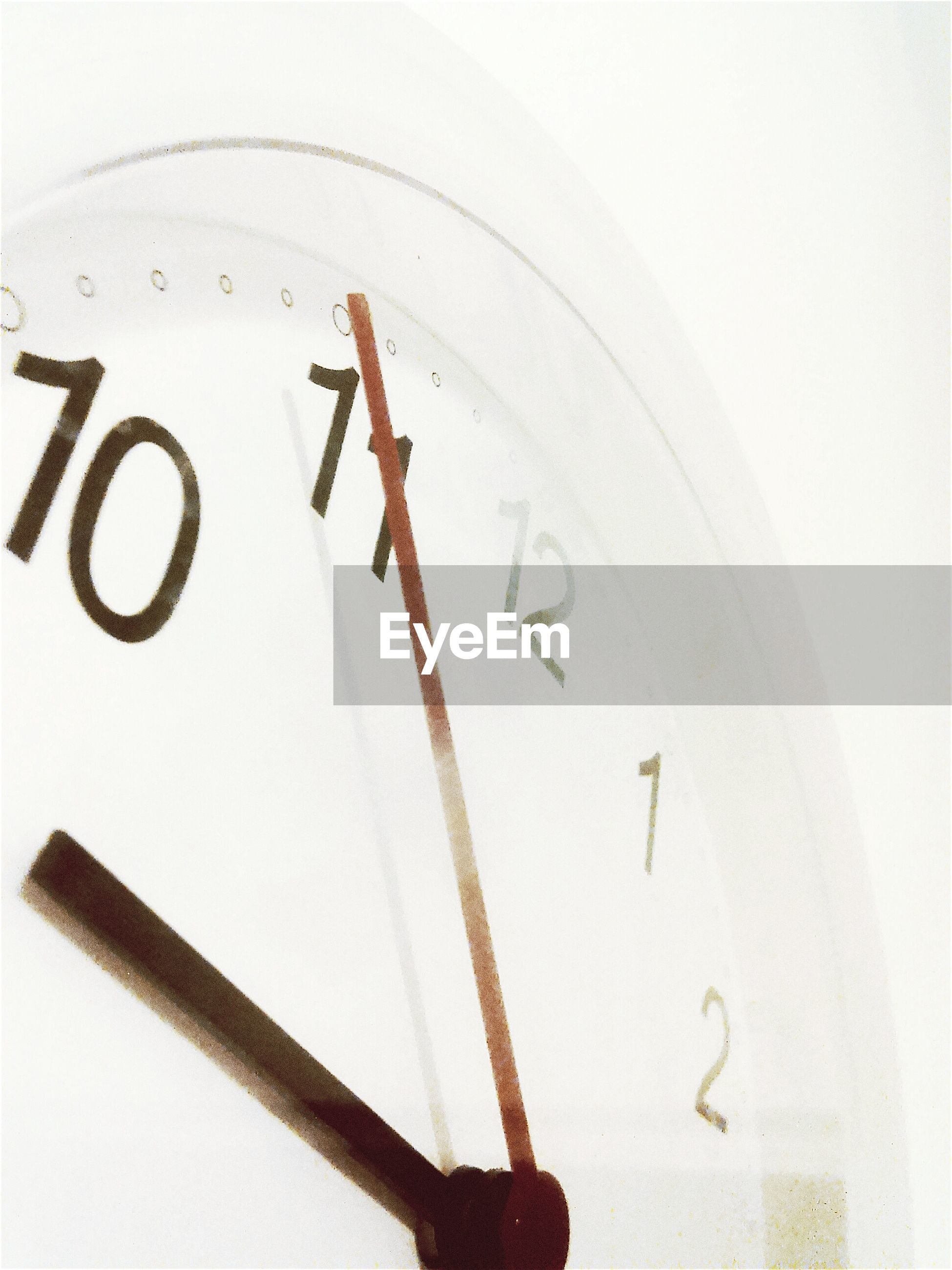 Cropped image of clock