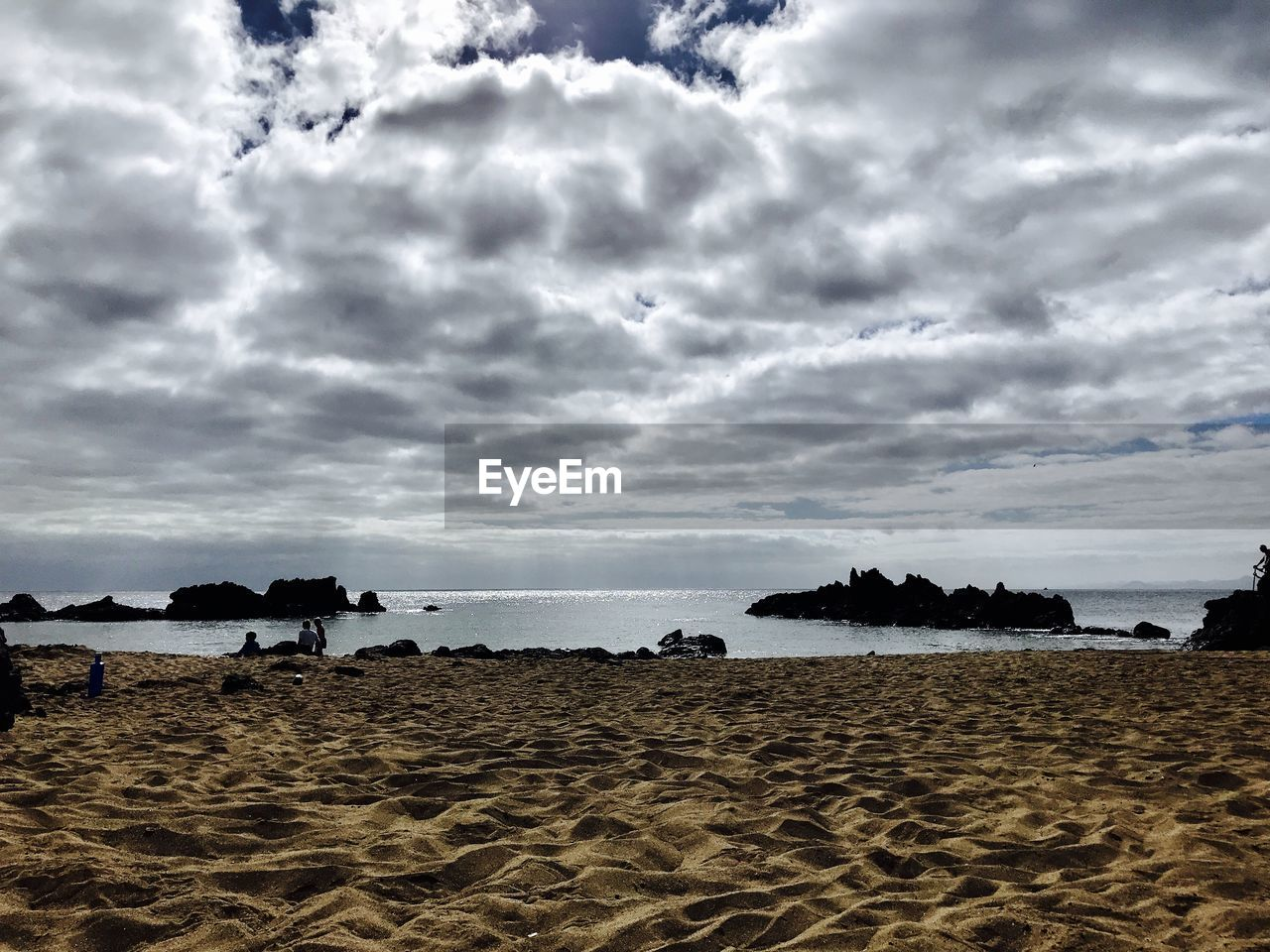 beach, cloud - sky, sky, sea, sand, water, nature, tranquility, horizon over water, beauty in nature, scenics, outdoors, no people, day