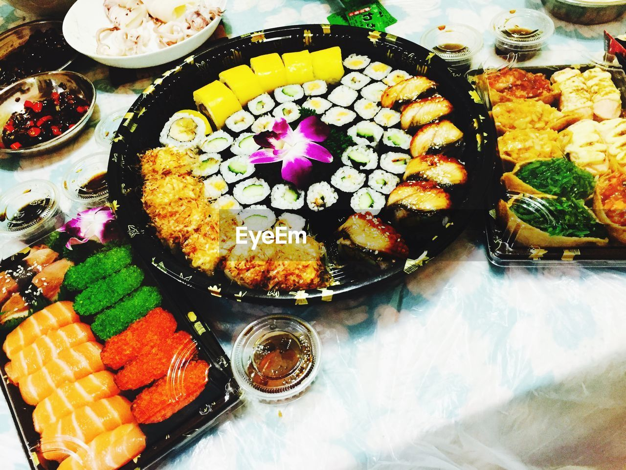 food, food and drink, freshness, plate, variation, ready-to-eat, indulgence, high angle view, no people, serving size, indoors, choice, temptation, close-up, day