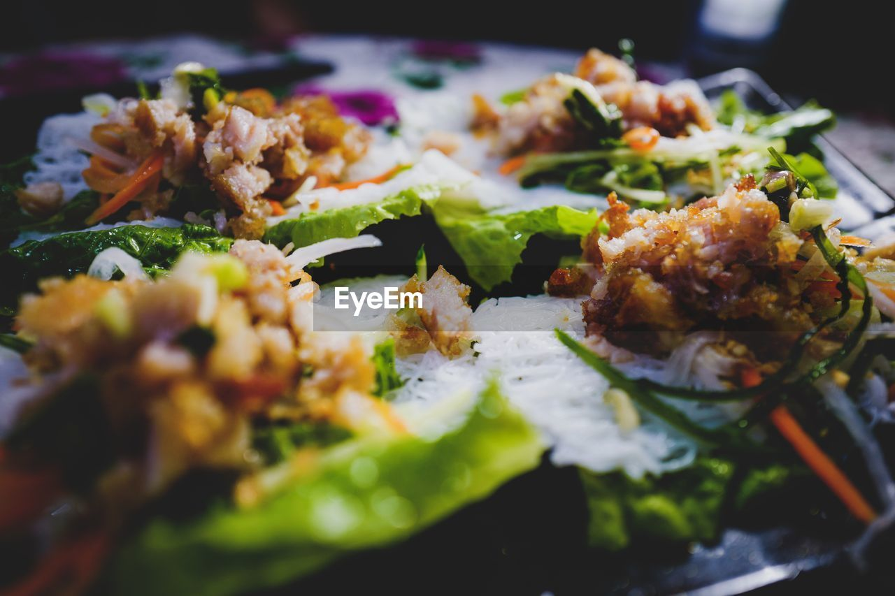 food and drink, ready-to-eat, food, freshness, close-up, selective focus, indoors, still life, serving size, wellbeing, healthy eating, plate, no people, vegetable, meal, meat, indulgence, seafood, salad, table, temptation, dinner, vegetarian food, snack, tray