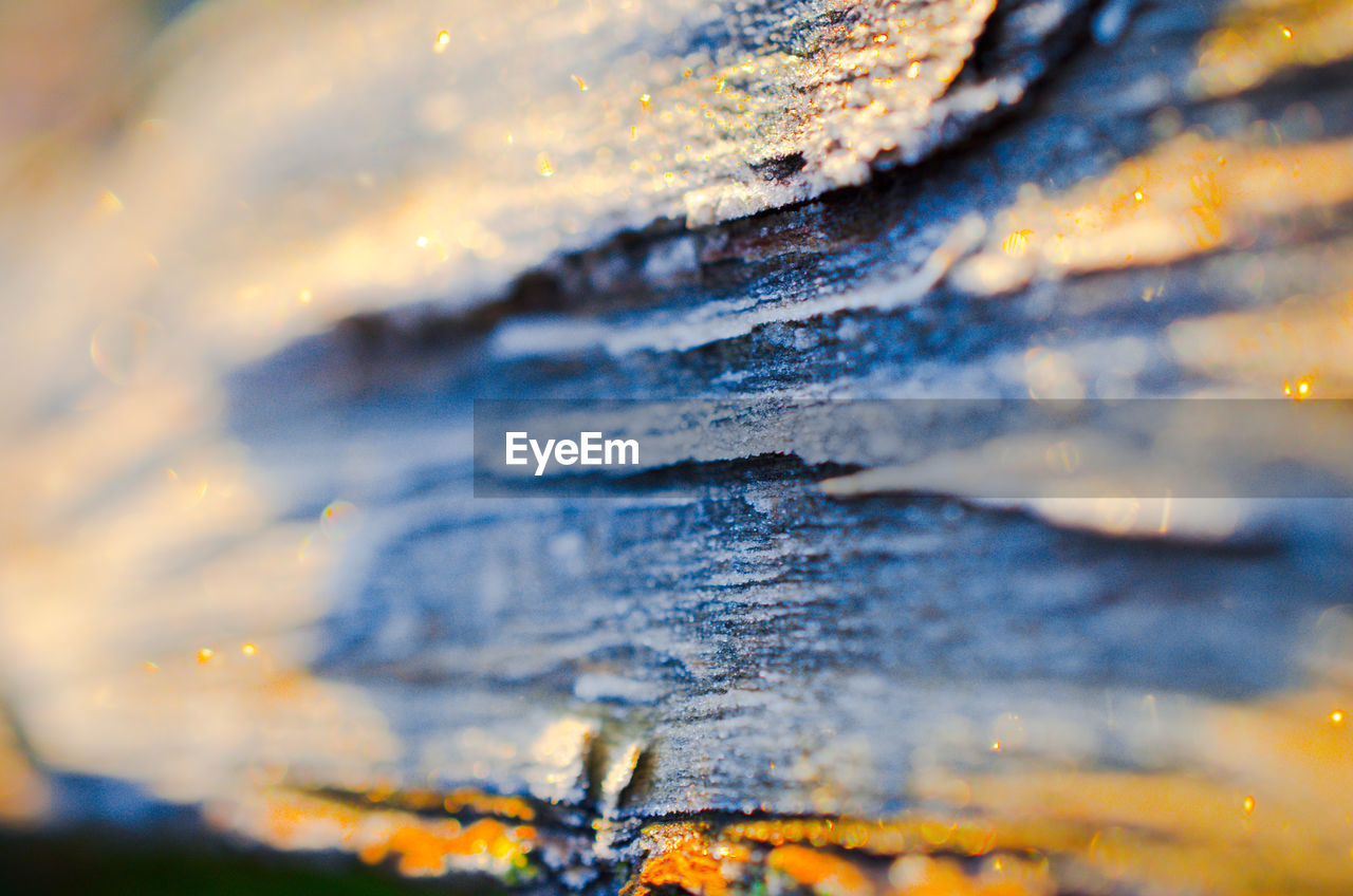 selective focus, close-up, textured, no people, backgrounds, full frame, pattern, rock, weathered, nature, day, extreme close-up, solid, rough, outdoors, rock - object, wood - material, detail, abstract, metal