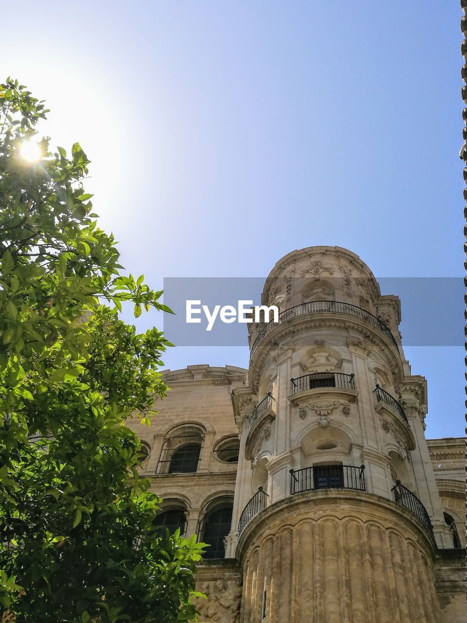 architecture, sky, built structure, building exterior, low angle view, nature, plant, tree, the past, no people, clear sky, history, day, building, religion, sunlight, belief, spirituality, outdoors, place of worship