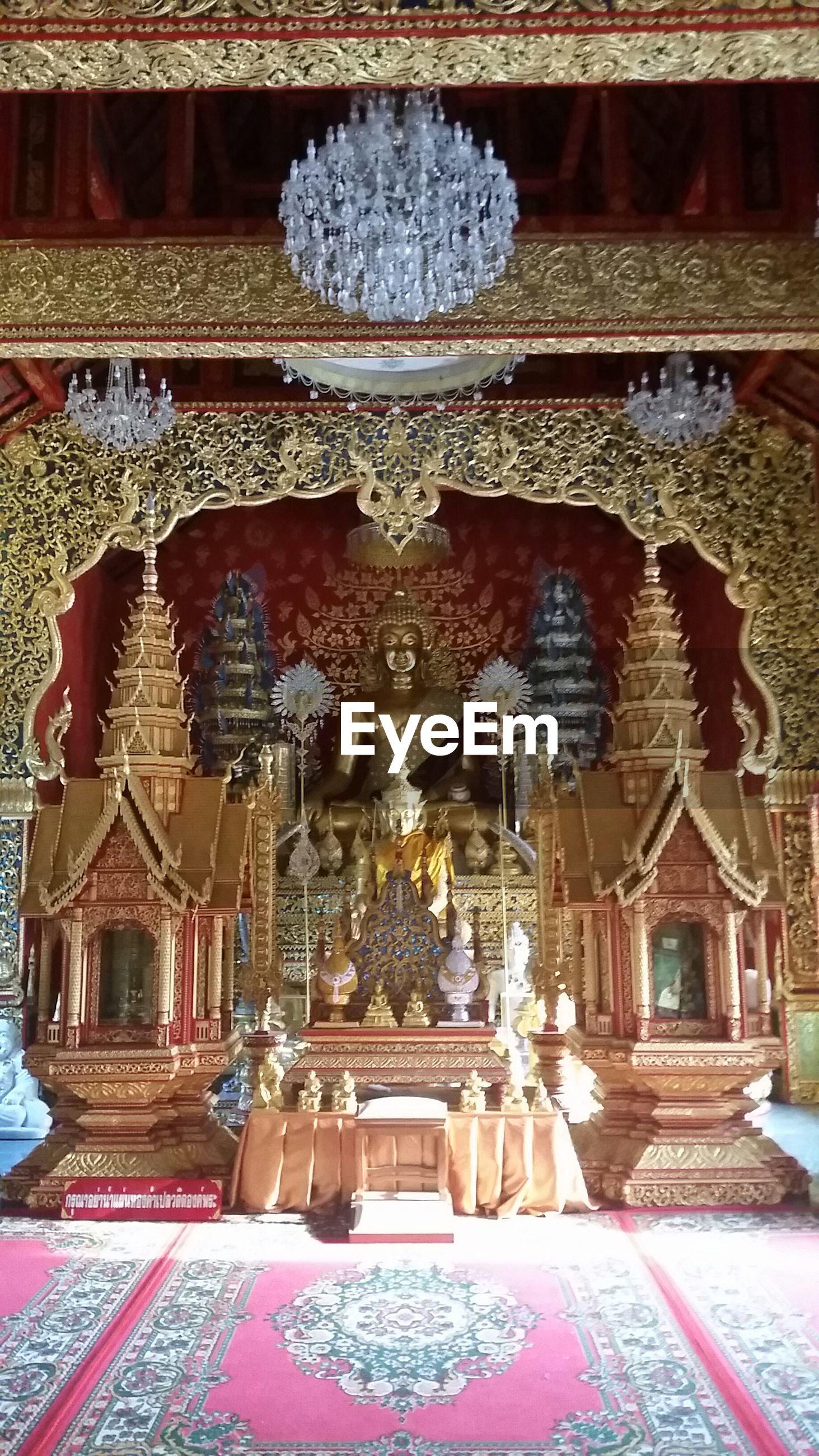 Altar of buddha