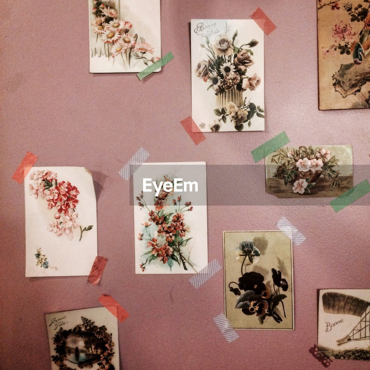 indoors, no people, high angle view, table, variation, directly above, close-up, day