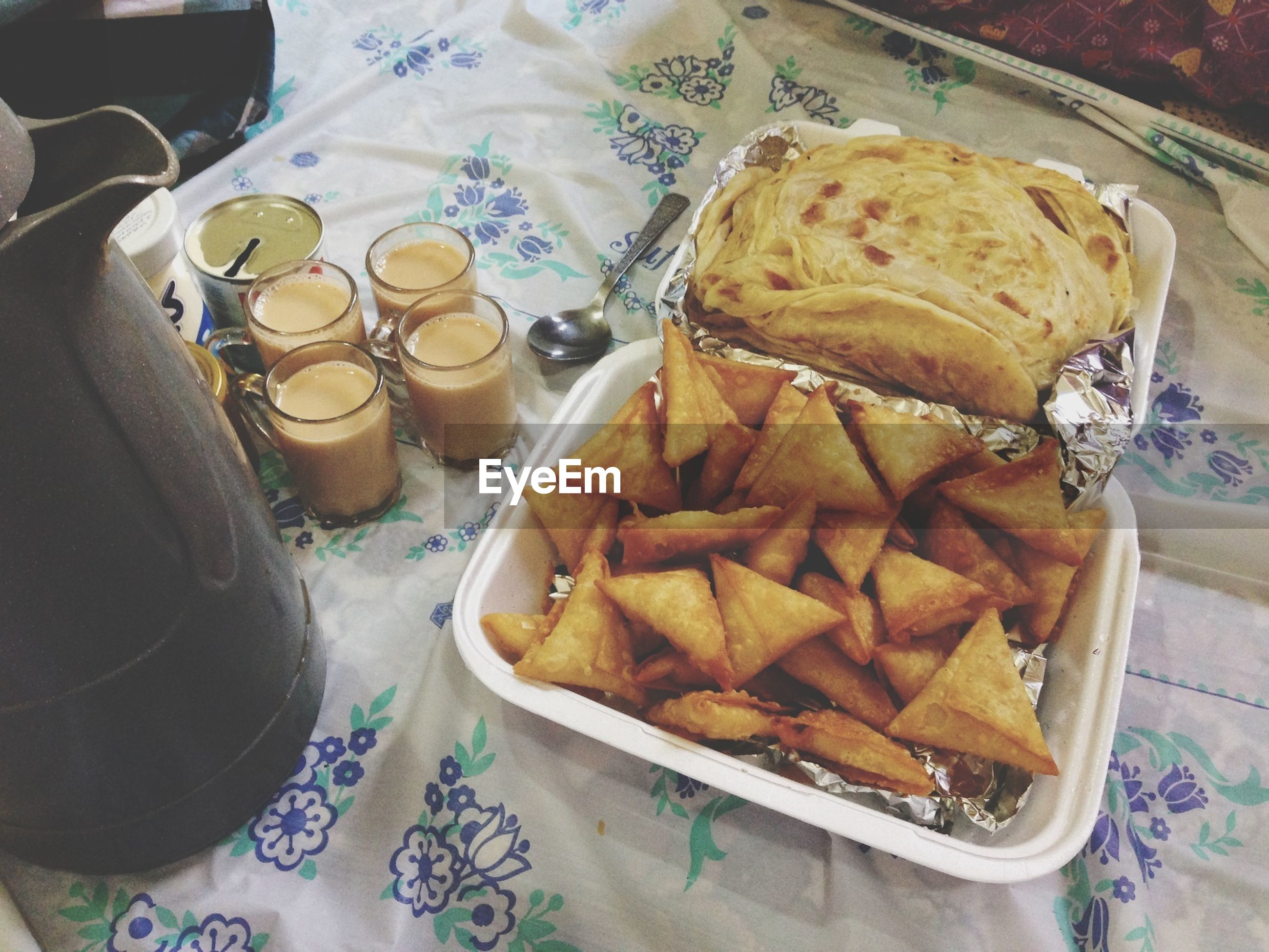 food and drink, indoors, food, high angle view, freshness, table, still life, ready-to-eat, variation, plate, sweet food, unhealthy eating, indulgence, dessert, choice, arrangement, bread, close-up, large group of objects, in a row