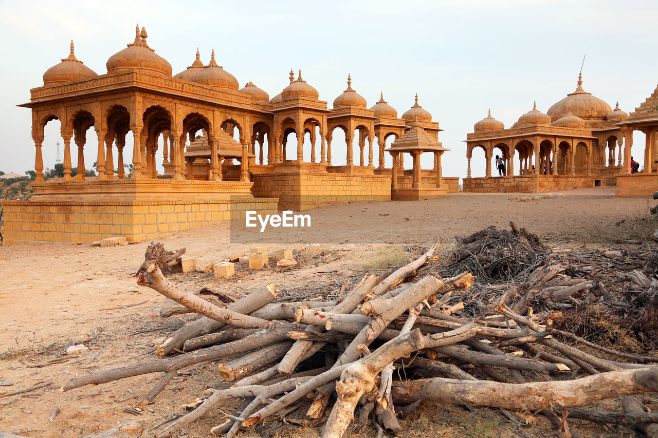 Exterior Of Jaisalmer Fort At Rajasthan