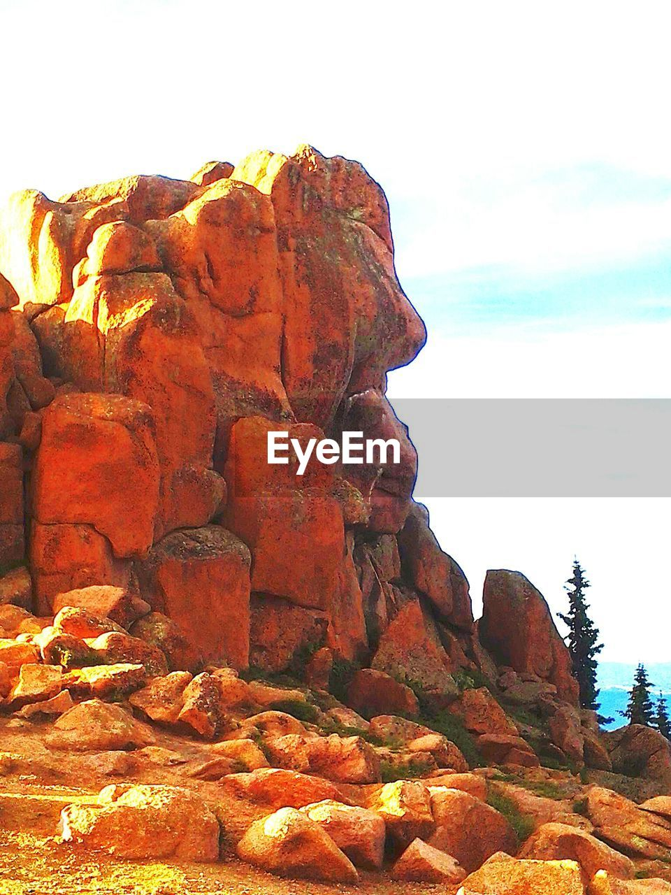 rock formation, rock - object, geology, nature, beauty in nature, physical geography, tranquility, outdoors, tranquil scene, sky, day, landscape, no people, travel destinations, scenics