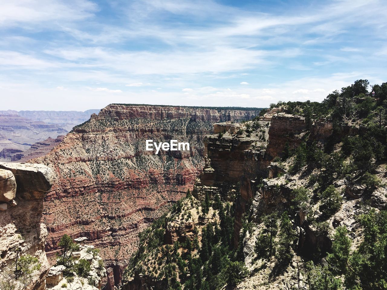 rock formation, cliff, geology, mountain, sky, nature, landscape, tourism, tree, outdoors, physical geography, no people, beauty in nature, day