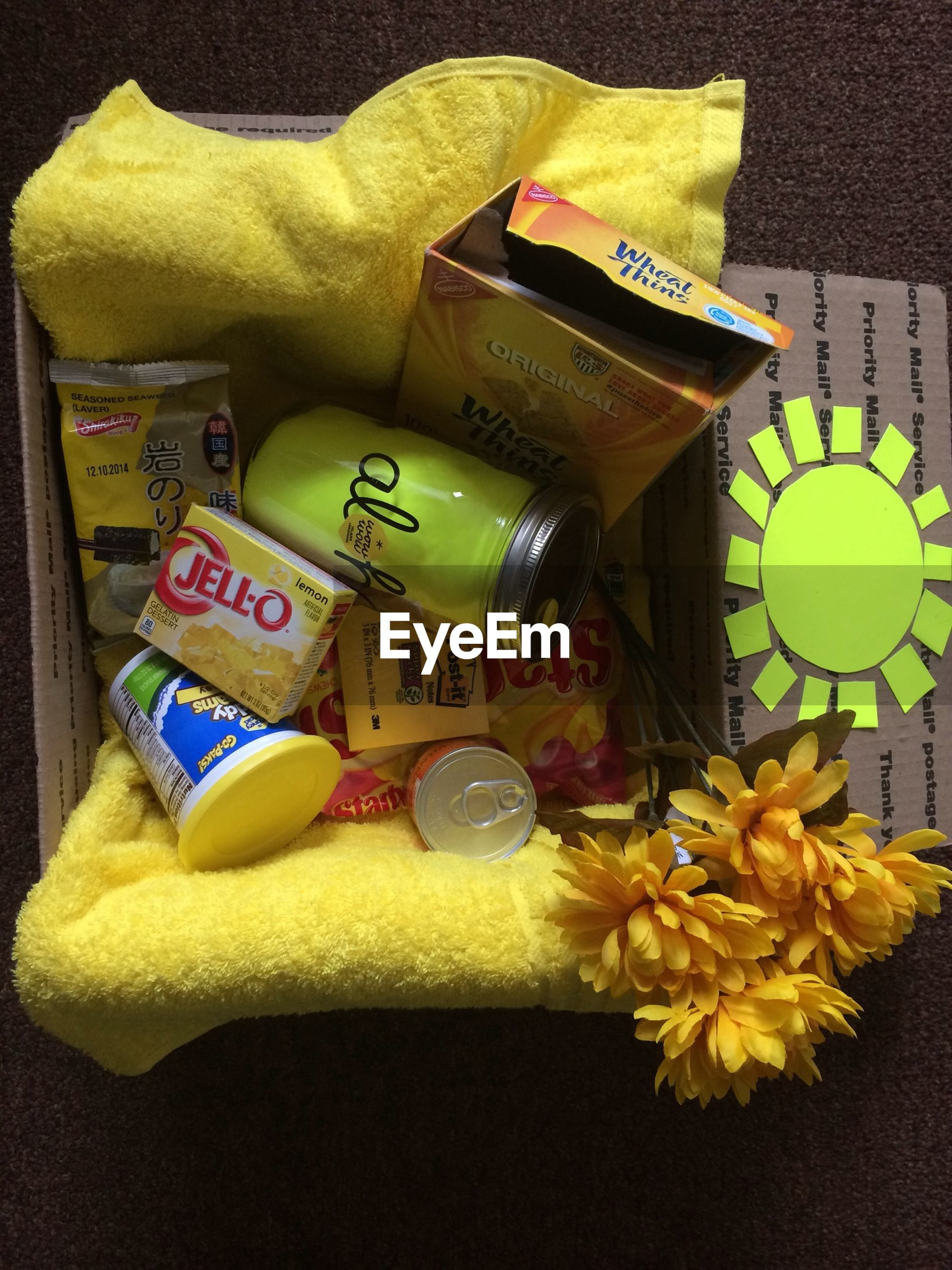 indoors, yellow, still life, variation, high angle view, choice, multi colored, toy, close-up, large group of objects, table, text, no people, collection, childhood, communication, arrangement, group of objects, plastic, paper