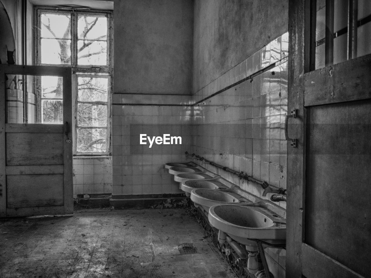 abandoned, indoors, damaged, messy, absence, dirty, empty, architecture, no people, window, day, bathroom, domestic room, destruction, built structure, toilet bowl