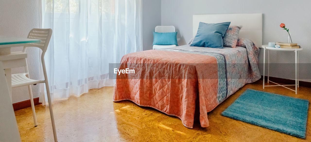 EMPTY SEATS IN BEDROOM