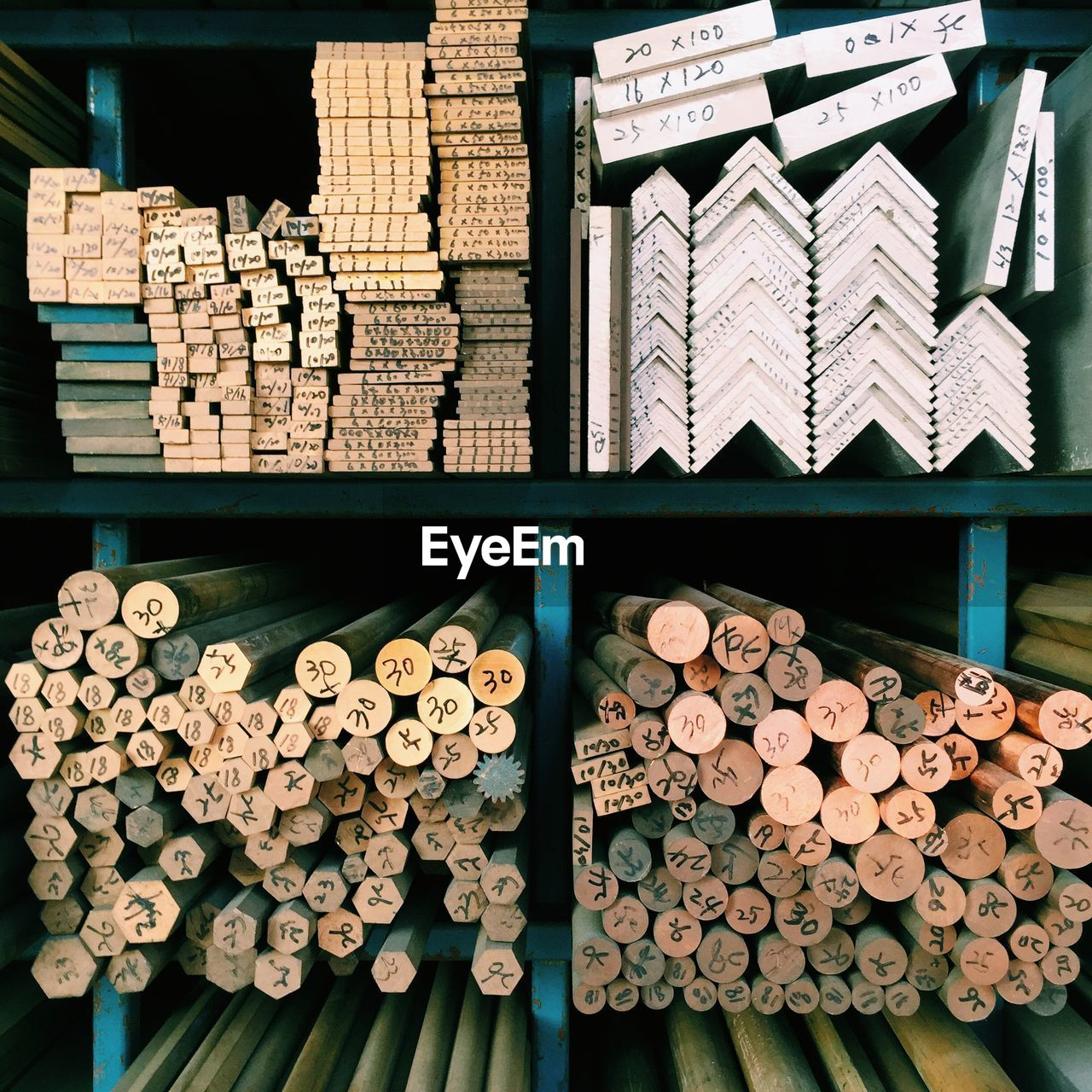 Various Wood Products Displayed At Store