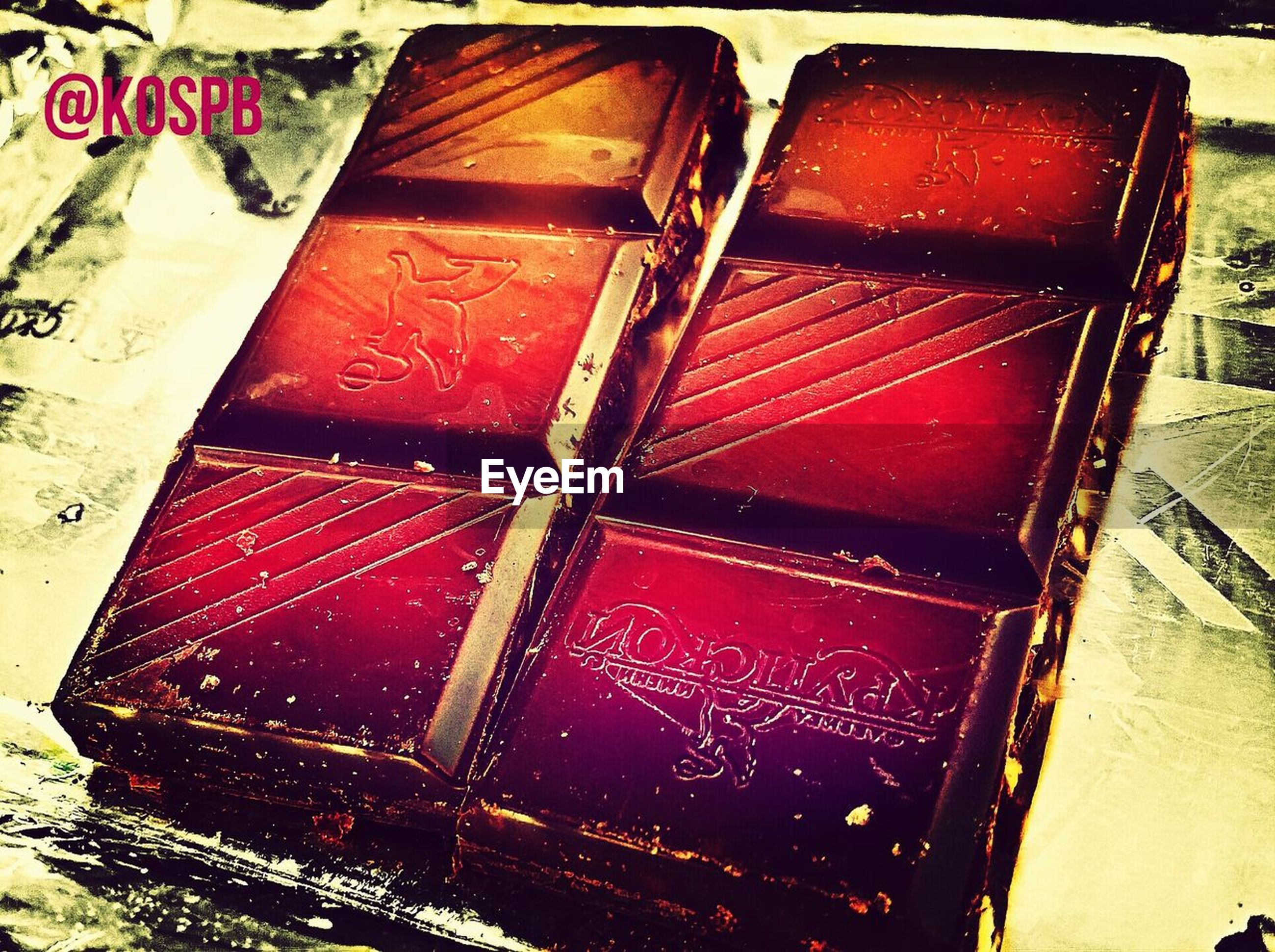 still life, close-up, indoors, no people, high angle view, table, text, red, food and drink, food, communication, container, western script, sweet food, box, wood - material, chocolate, group, indulgence, group of objects