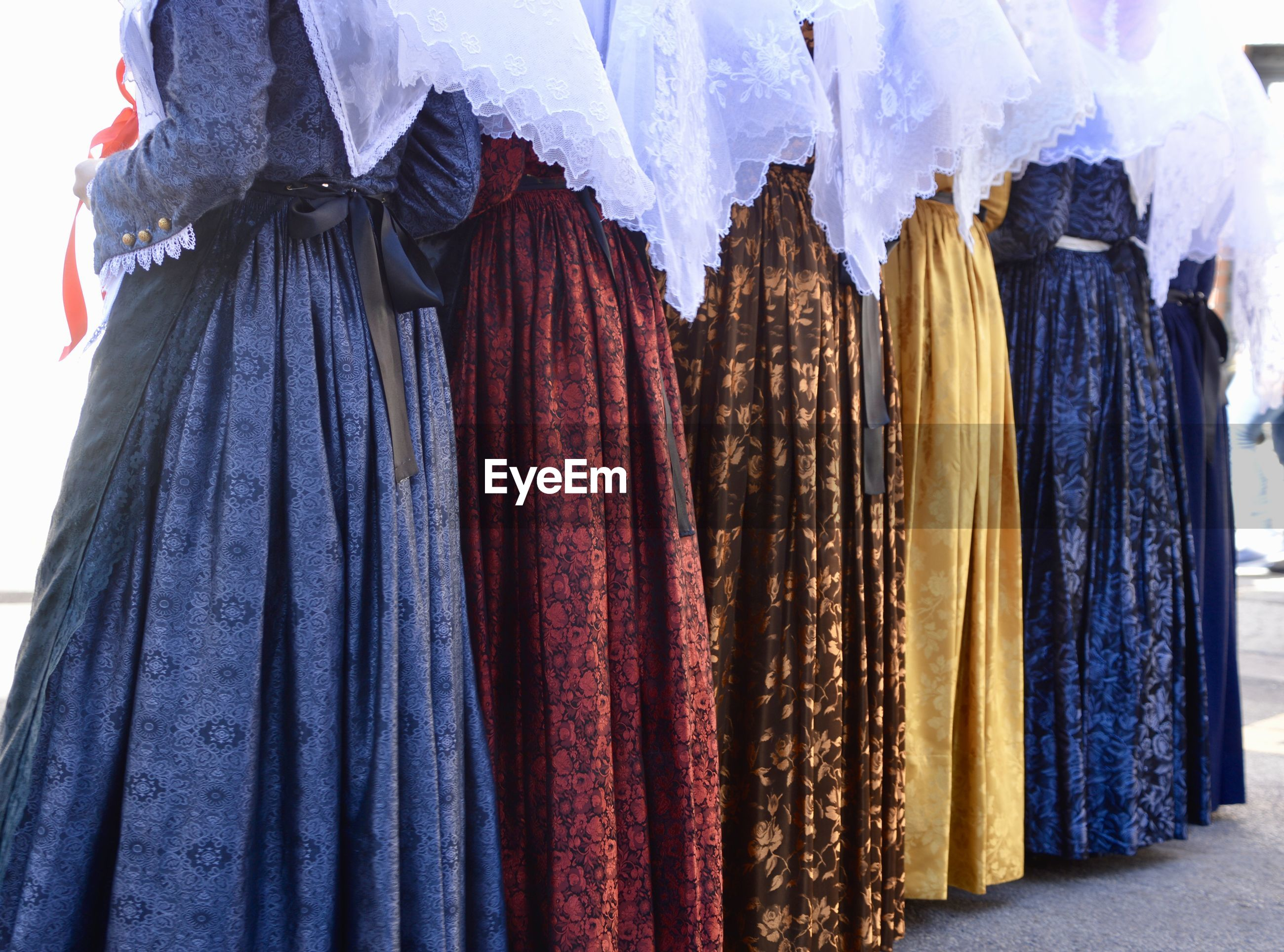 Colorful gowns for sale