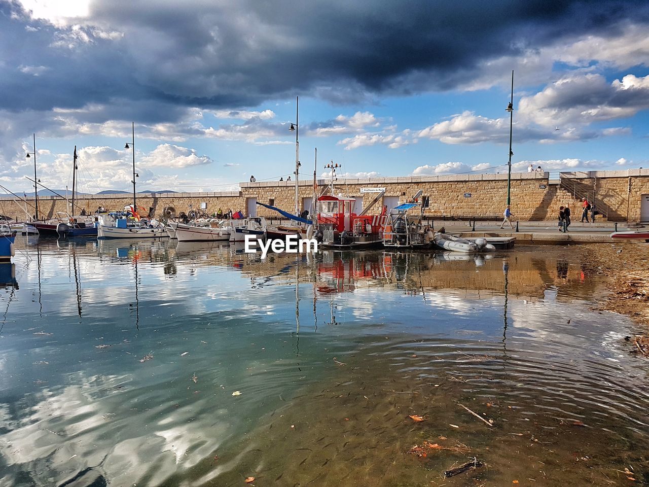 cloud - sky, sky, water, day, transportation, outdoors, real people, men, nature, nautical vessel, one person, architecture, people