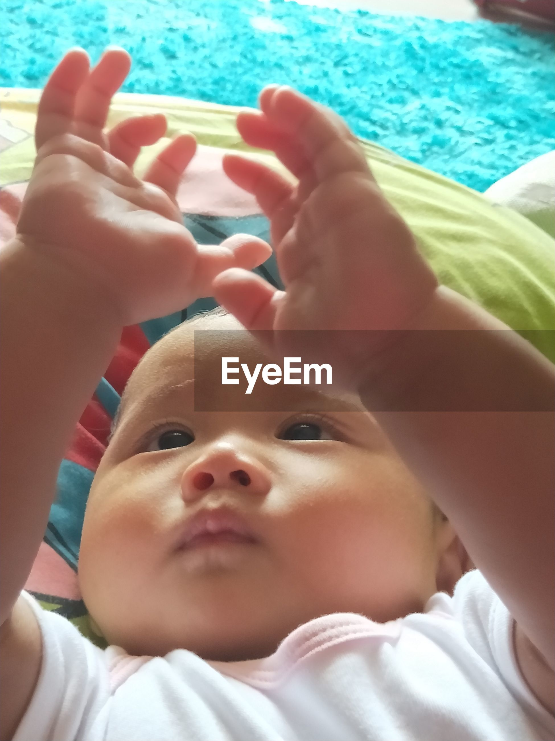 Close-up of cute baby