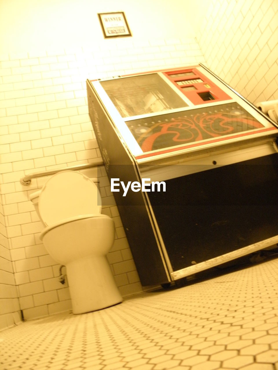 indoors, no people, tile, bathroom, urinal, day, toilet bowl, close-up, flushing toilet