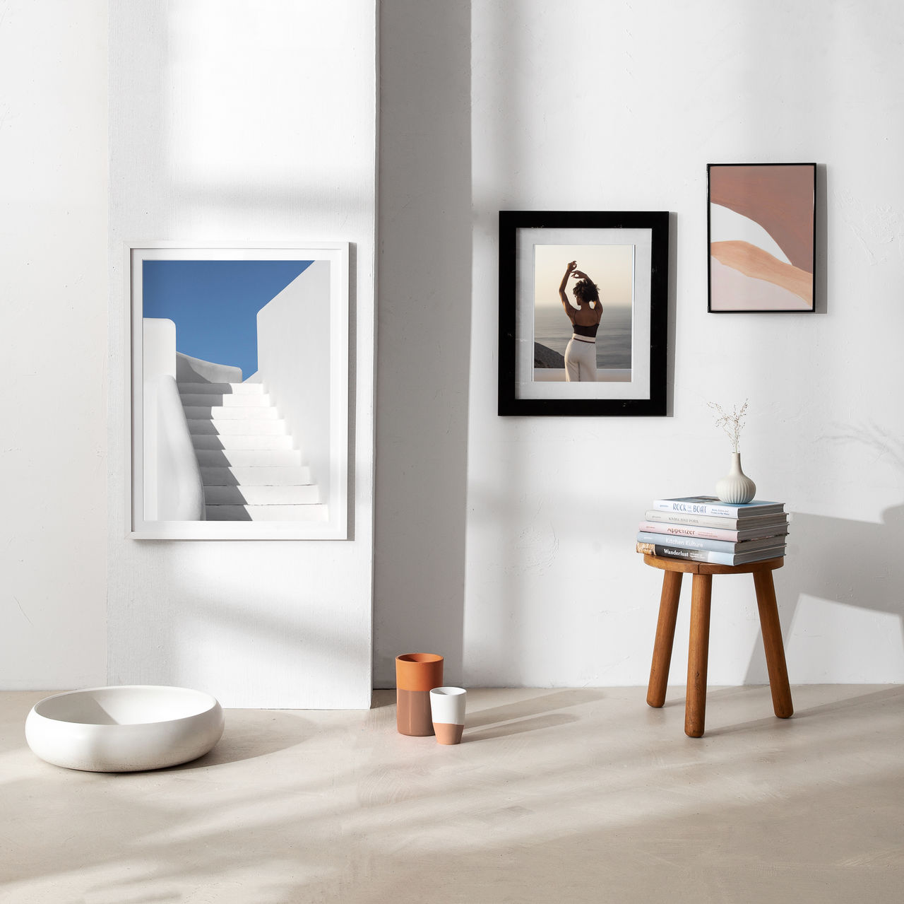 indoors, table, frame, picture frame, no people, home interior, absence, art and craft, wall - building feature, lighting equipment, seat, paintings, furniture, day, representation, paint, domestic room, architecture, photography themes, chair, electric lamp