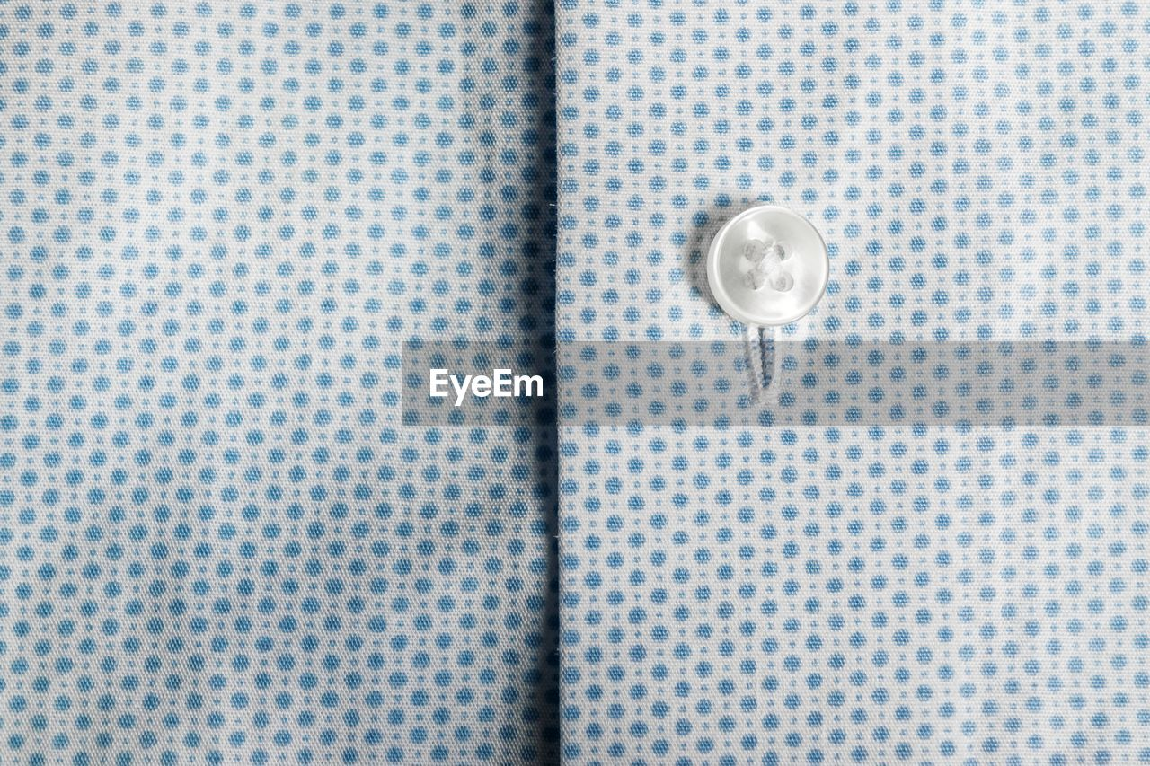 Full Frame Shot Of Fabric With Button