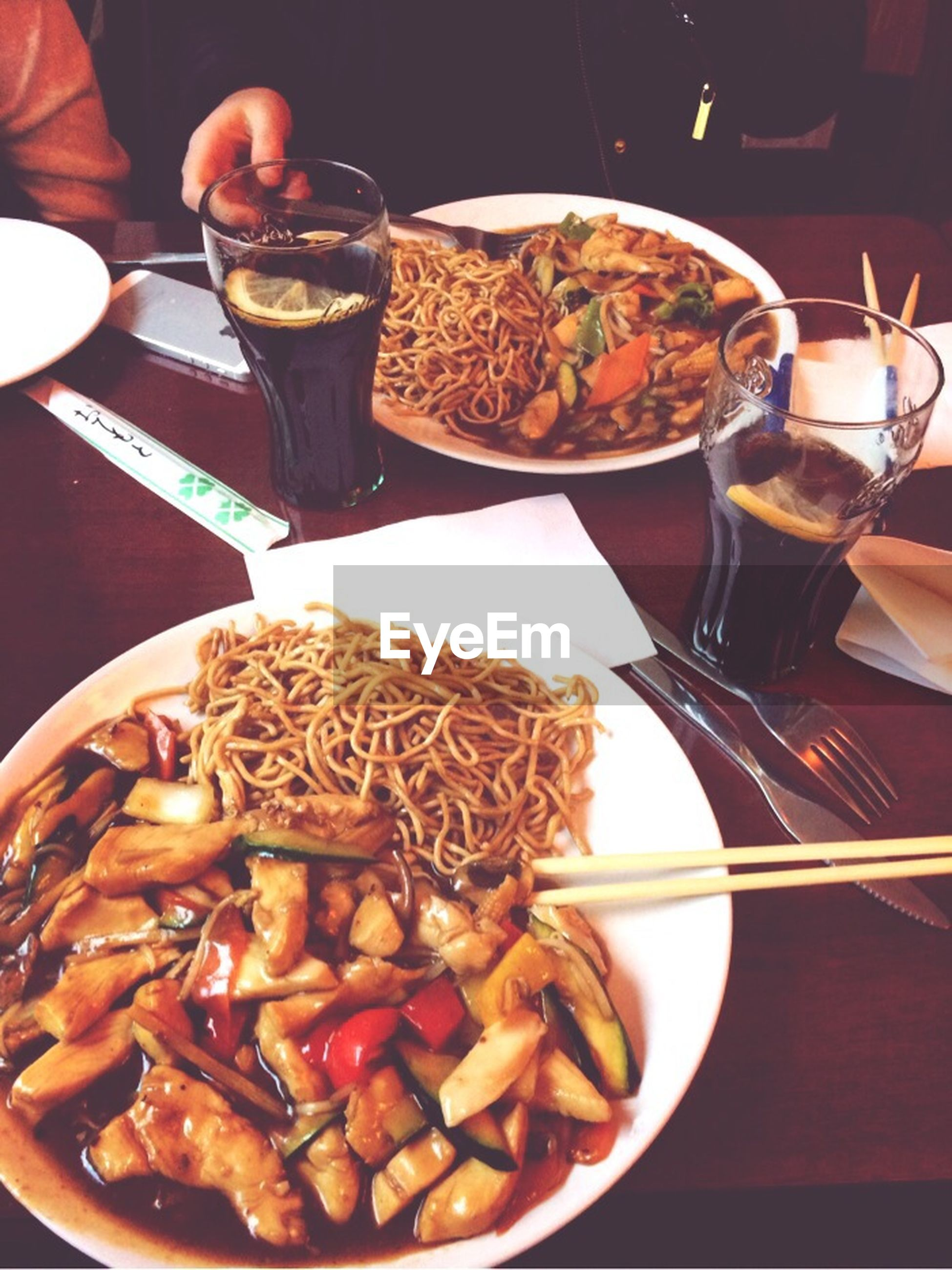 food and drink, food, freshness, indoors, ready-to-eat, table, plate, still life, serving size, indulgence, drink, unhealthy eating, sweet food, meal, fork, high angle view, served, close-up, breakfast