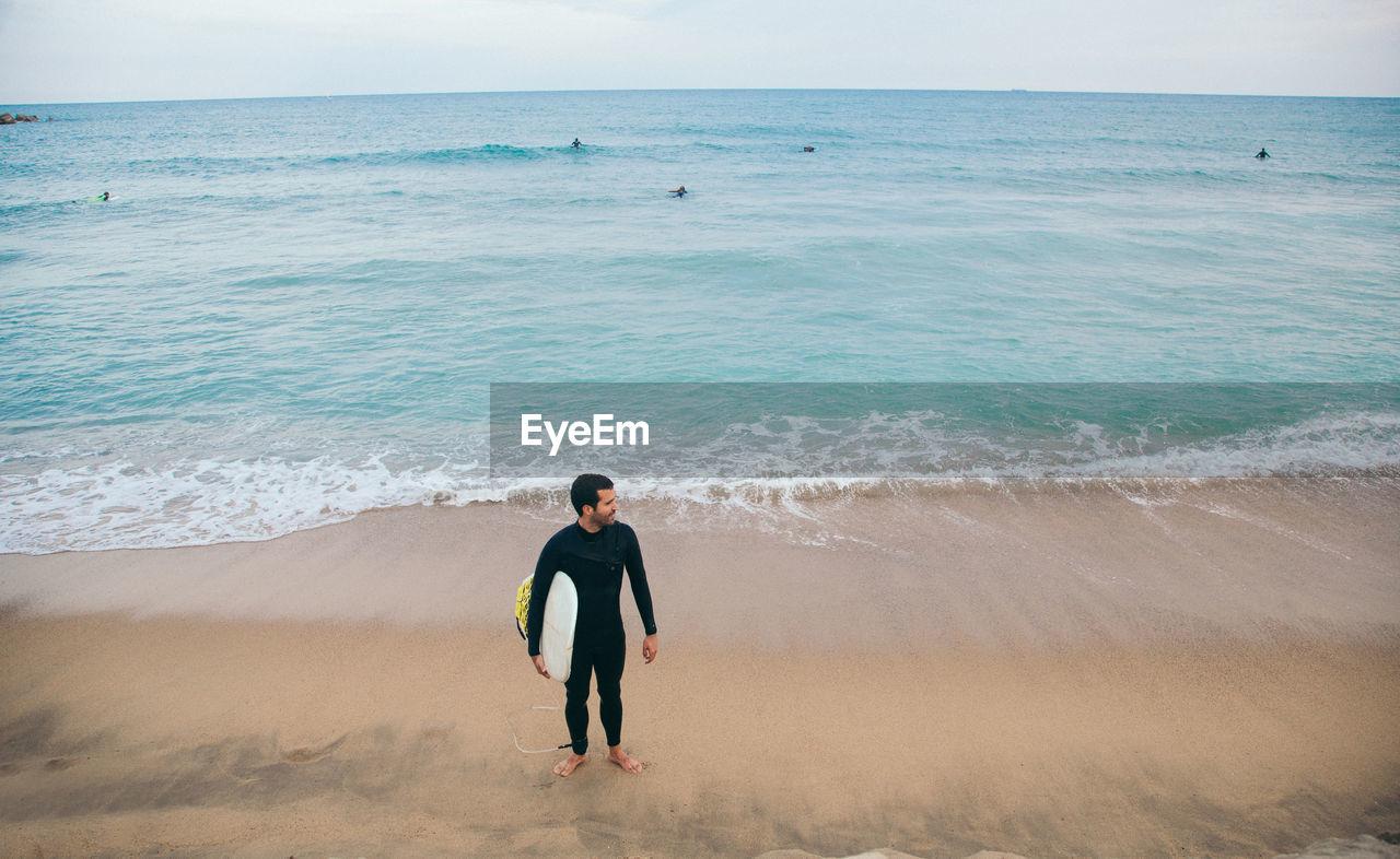 Surfer At Sea