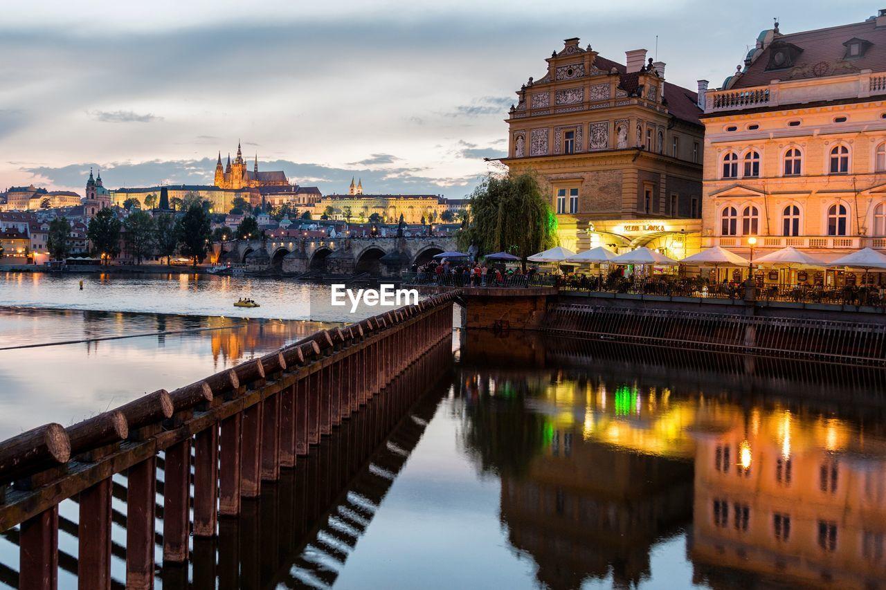Prague is a beautiful city.