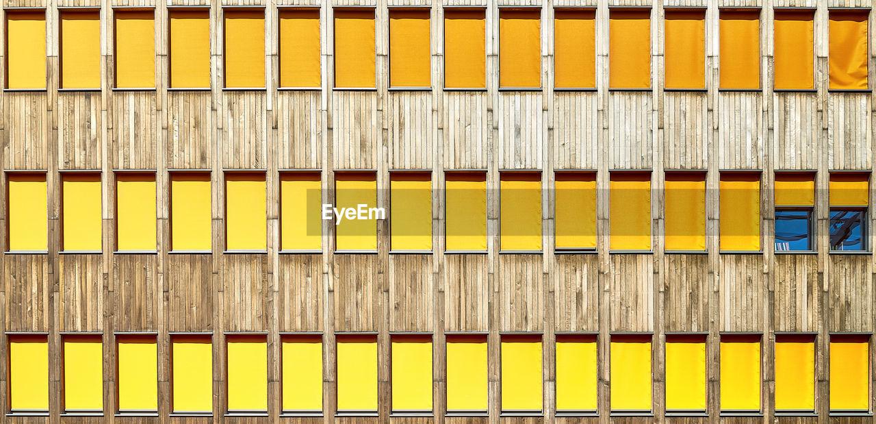 Full Frame Shot Of Building Windows