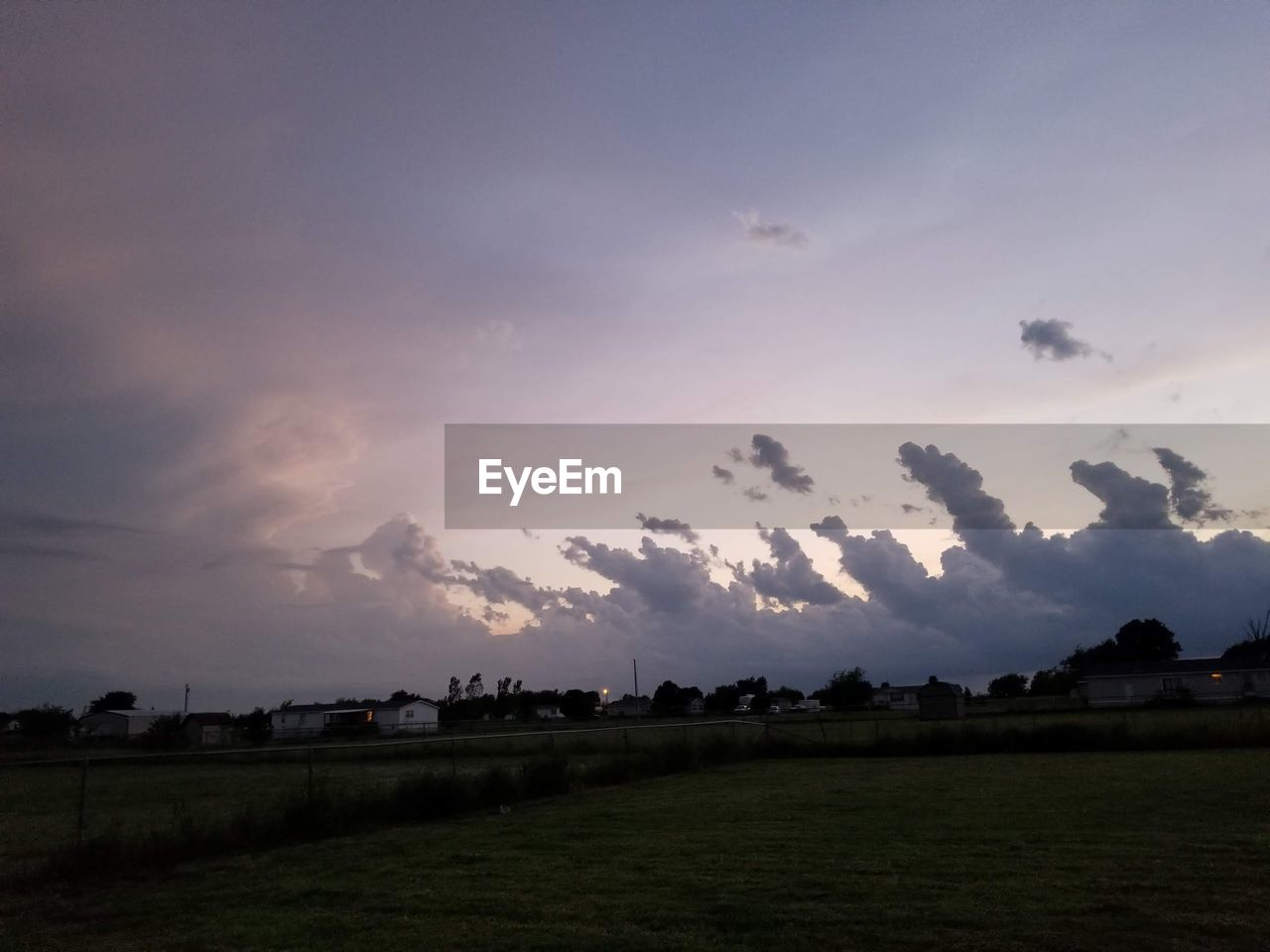 sky, cloud - sky, environment, landscape, scenics - nature, beauty in nature, tranquil scene, tranquility, nature, field, sunset, no people, plant, land, rural scene, tree, outdoors, agriculture, non-urban scene, grass