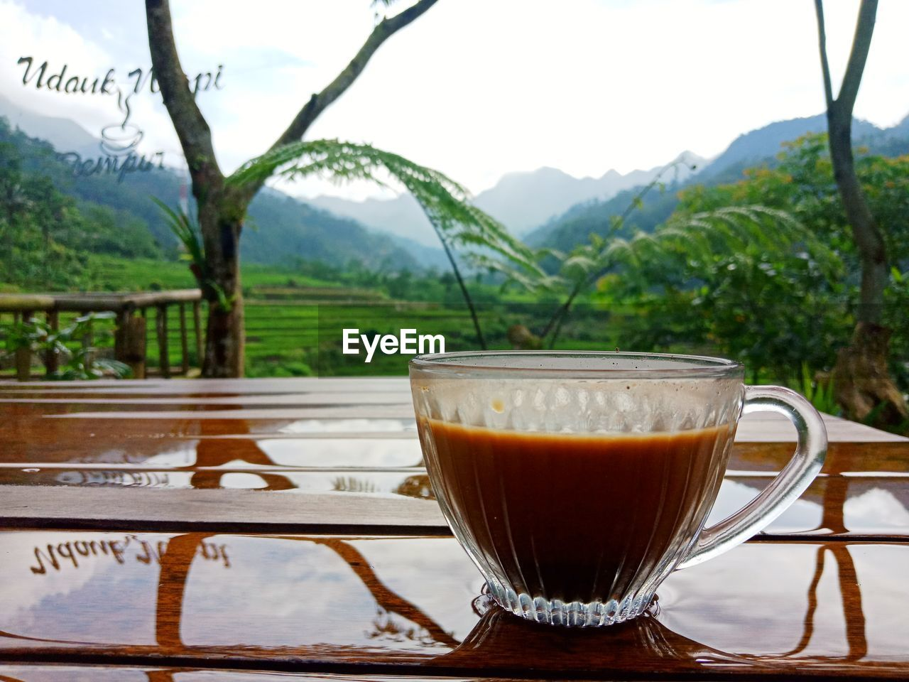 food and drink, refreshment, drink, cup, mountain, coffee, mug, hot drink, table, freshness, tea, no people, coffee - drink, food, still life, transparent, close-up, tea - hot drink, glass, mountain range, crockery