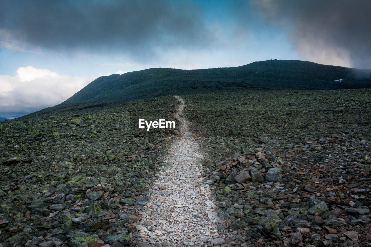 Surface Level Of Barren Landscape