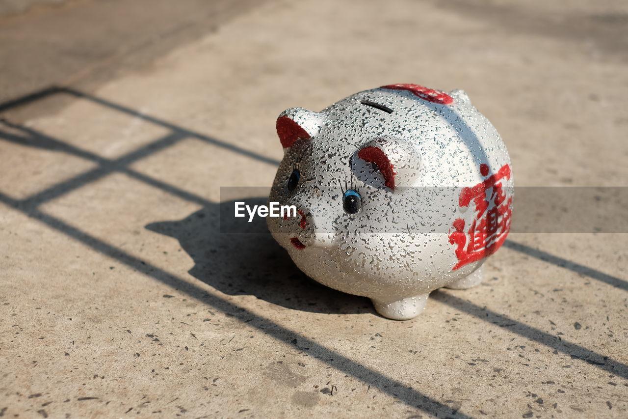 Close-Up Of Piggy Bank