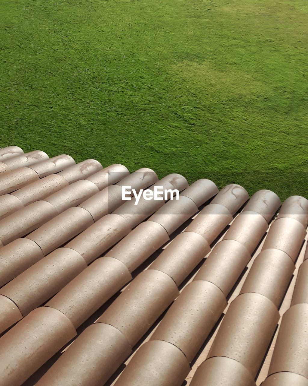 HIGH ANGLE VIEW OF PIPES