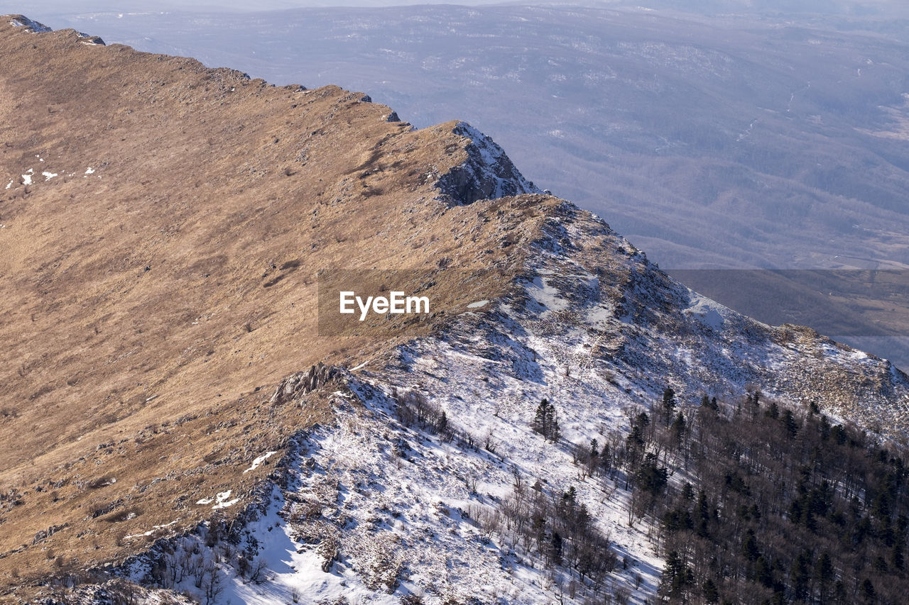 Aerial View Of Rtanj Mountain