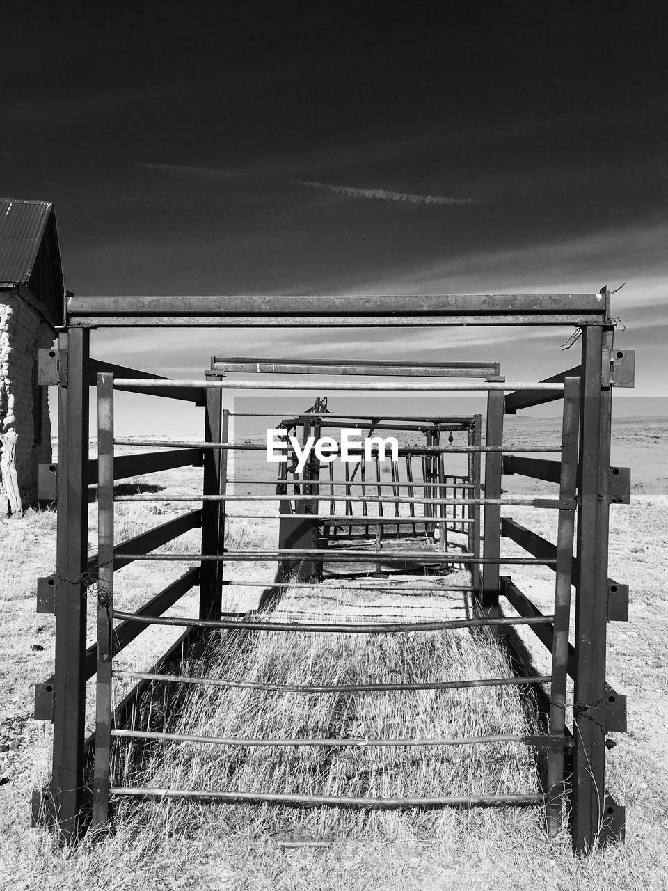 railing, beach, sea, day, outdoors, sand, no people, nature, wood - material, sky, tranquility, water, horizon over water, beauty in nature