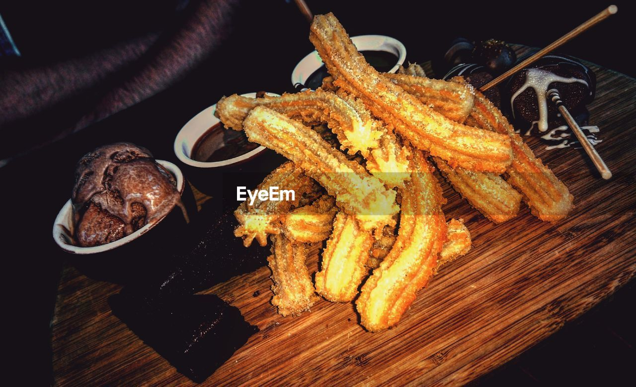food and drink, food, table, freshness, fried, indoors, no people, snack, healthy eating, plate, close-up, serving size, ready-to-eat, appetizer, dip, day