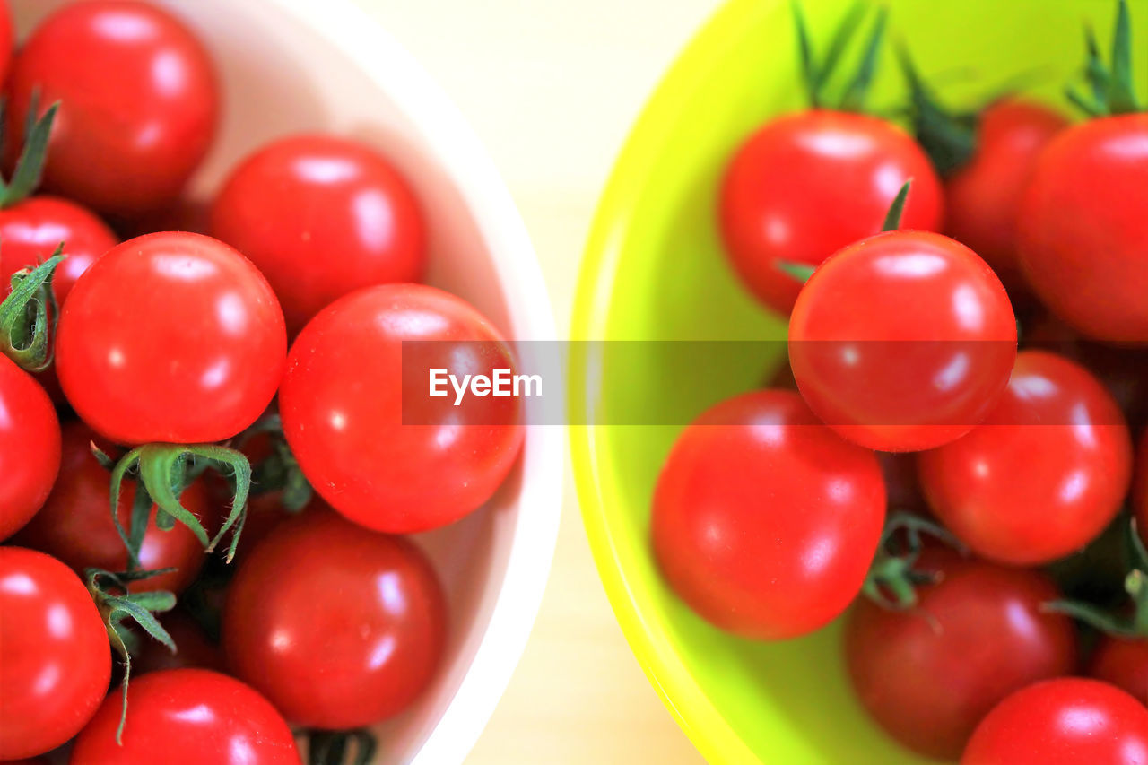 Directly Above Shot Of Red Tomatoes