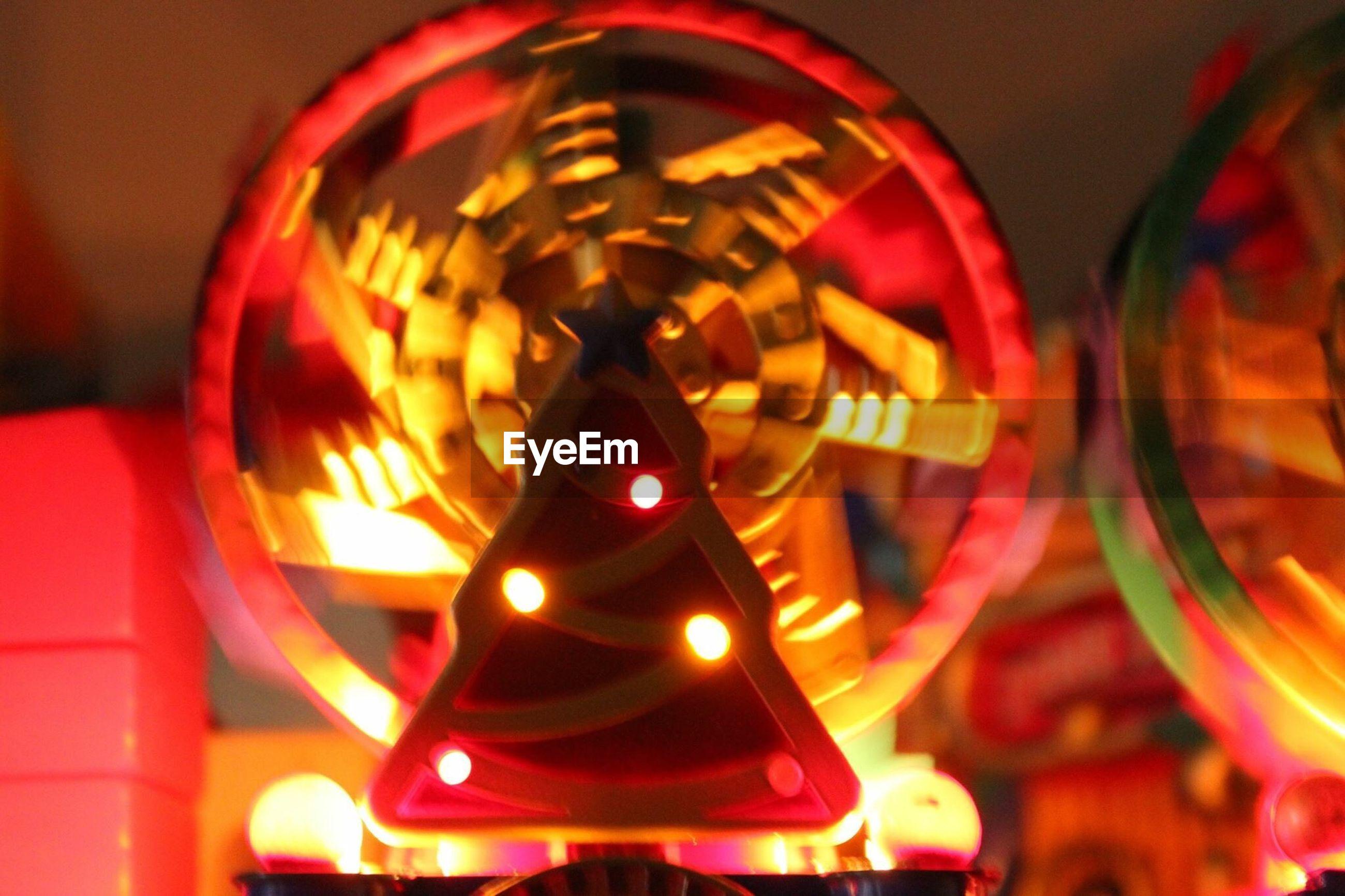 illuminated, red, no people, close-up, christmas, night, christmas decoration, indoors