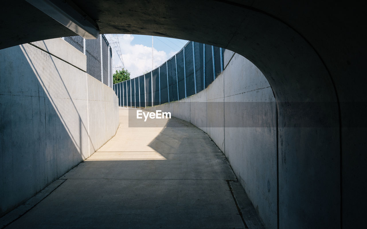 Tunnel In City