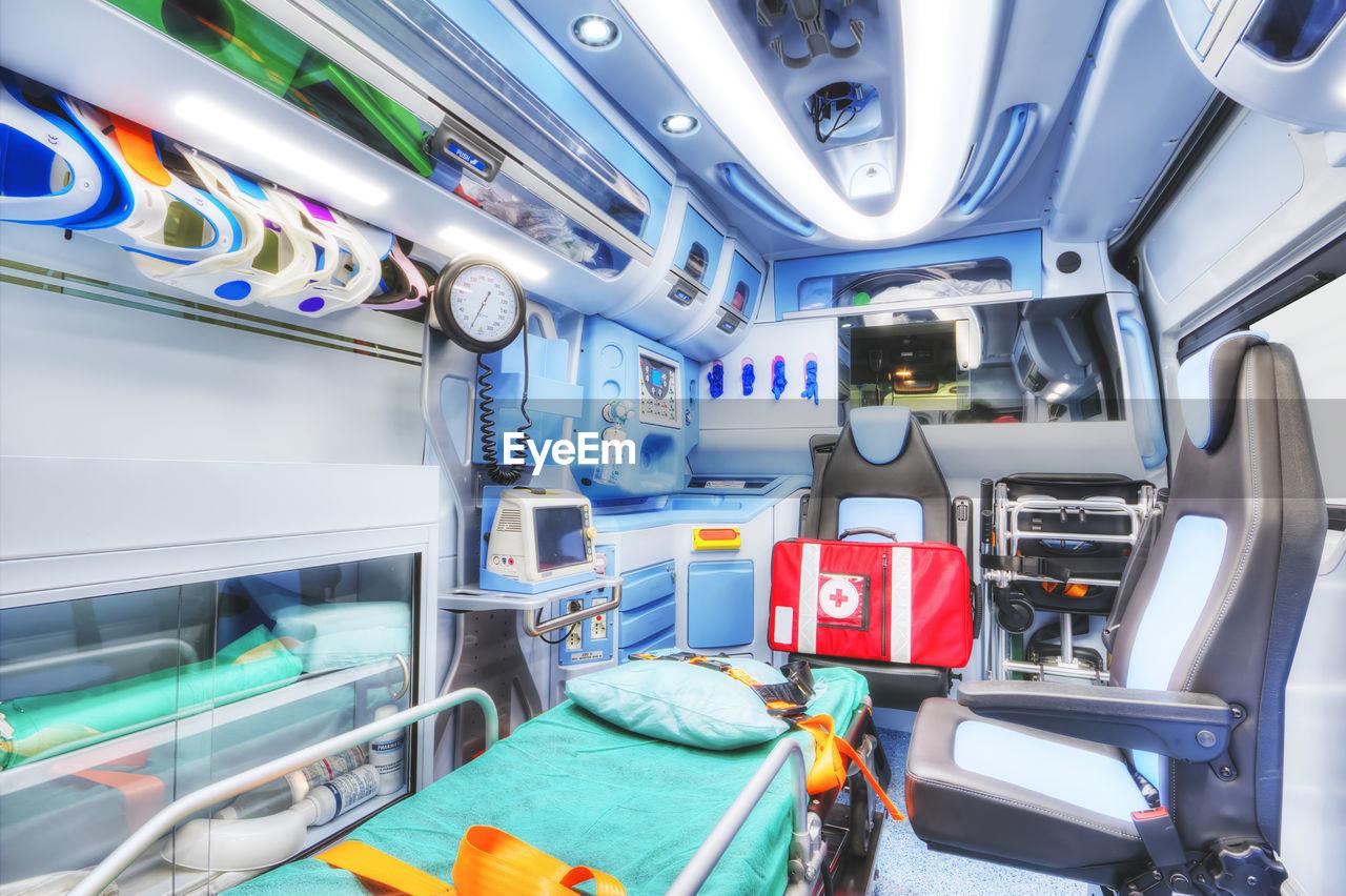 Interior Of Ambulance