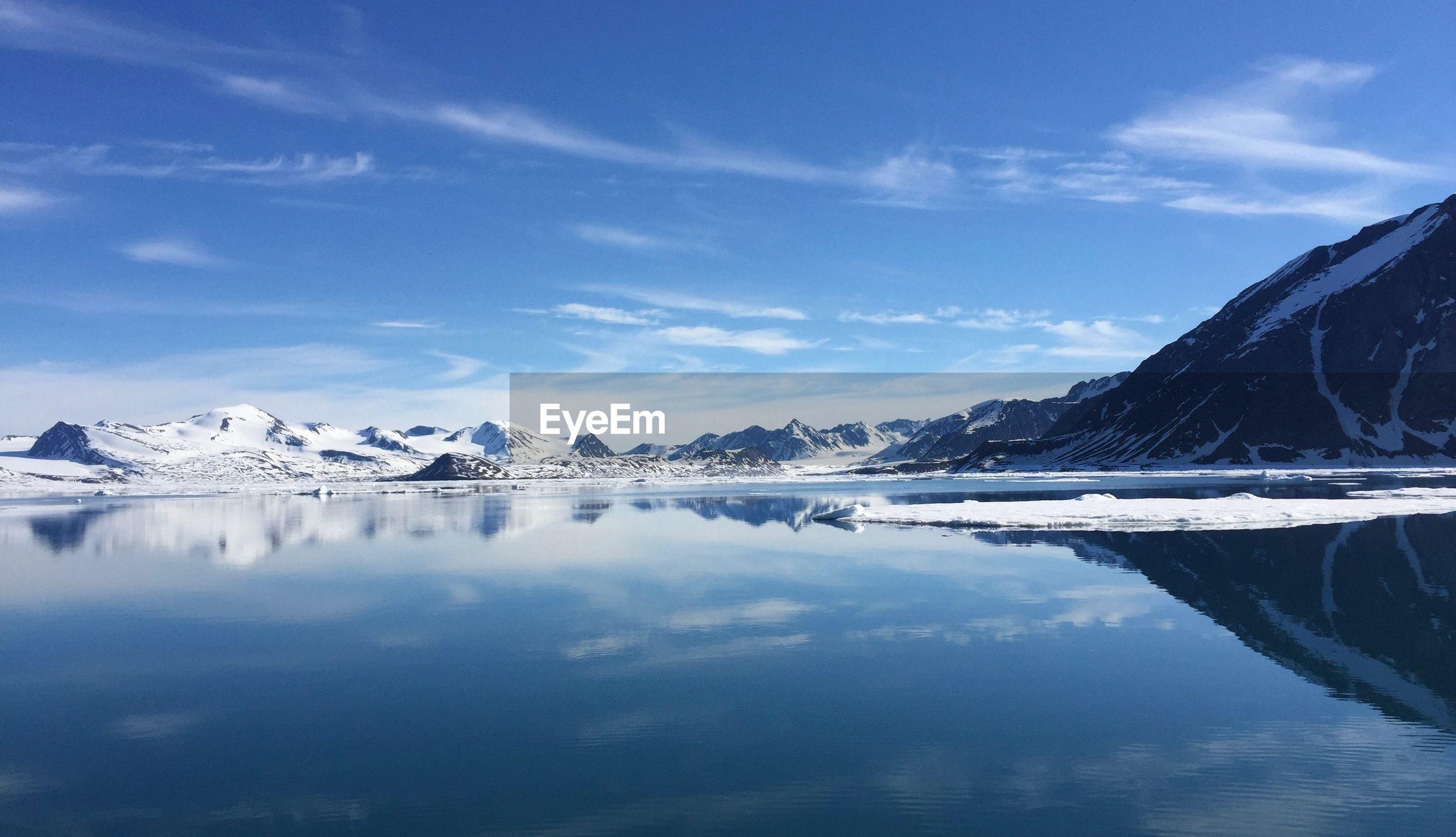 Northern svalbard  fjord