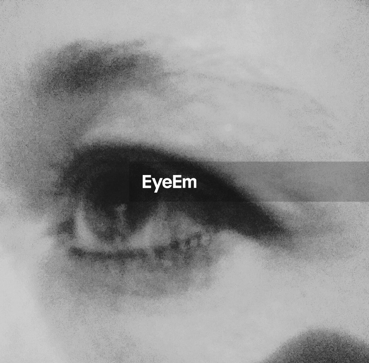 human eye, human body part, one person, human face, close-up, sensory perception, day, outdoors, eyesight, eyelash, sky, eyeball, people