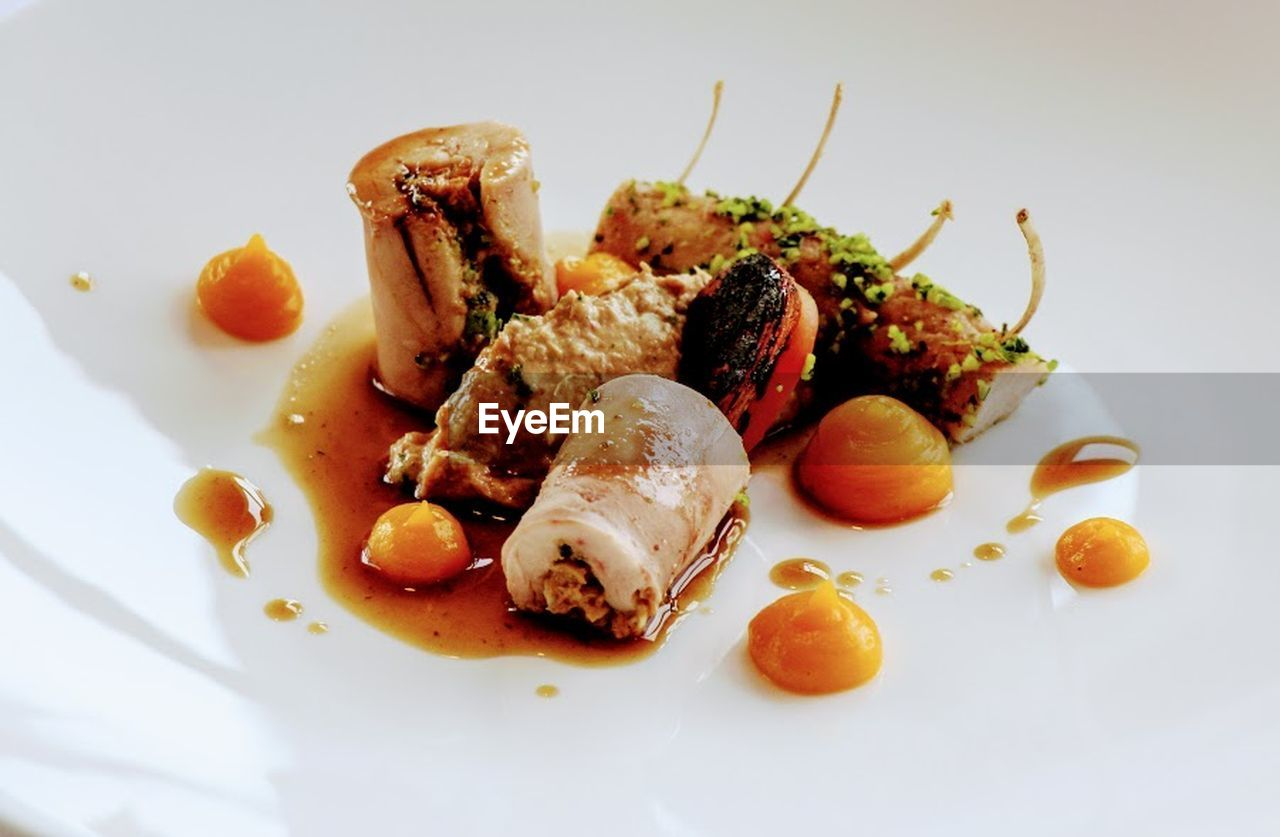 food, food and drink, meat, plate, savory food, ready-to-eat, healthy eating, no people, gourmet, beef, freshness, main course, indoors, pork, close-up