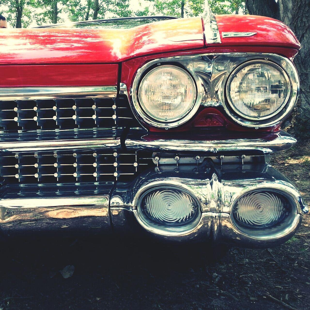 Digital composite image of classic car