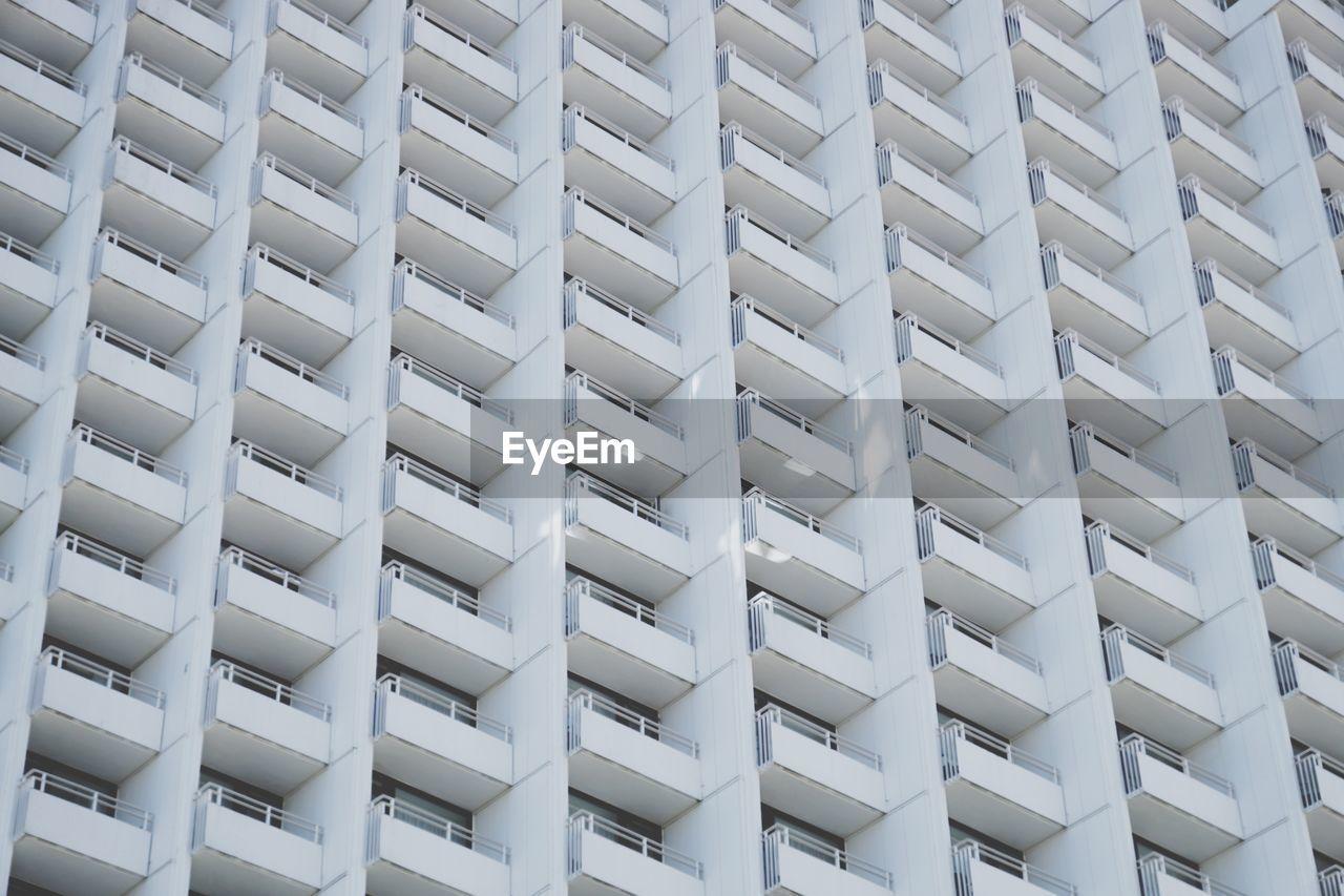 Full Frame Shot Of White Building