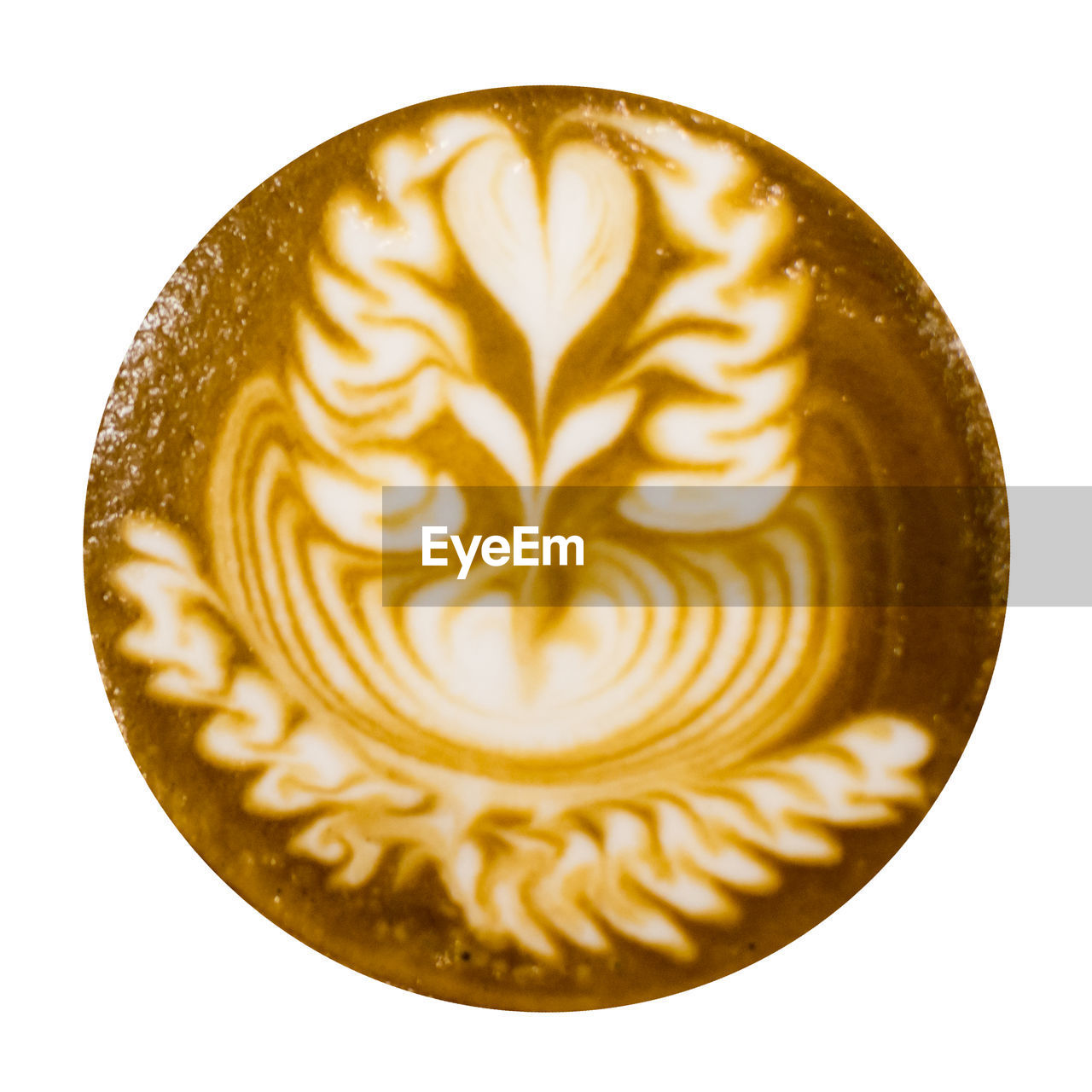 coffee - drink, food and drink, coffee, still life, coffee cup, frothy drink, refreshment, drink, white background, mug, cappuccino, indoors, froth art, creativity, cup, freshness, hot drink, close-up, food, design, latte, no people, breakfast, floral pattern
