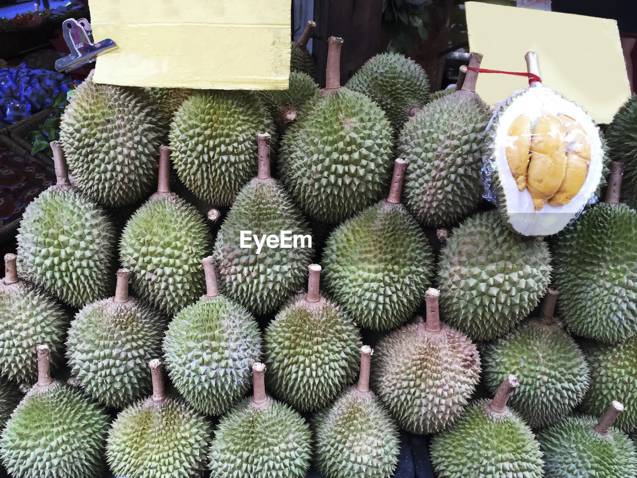 food, fruit, food and drink, market, freshness, healthy eating, outdoors, large group of objects, no people, day, coconut, close-up