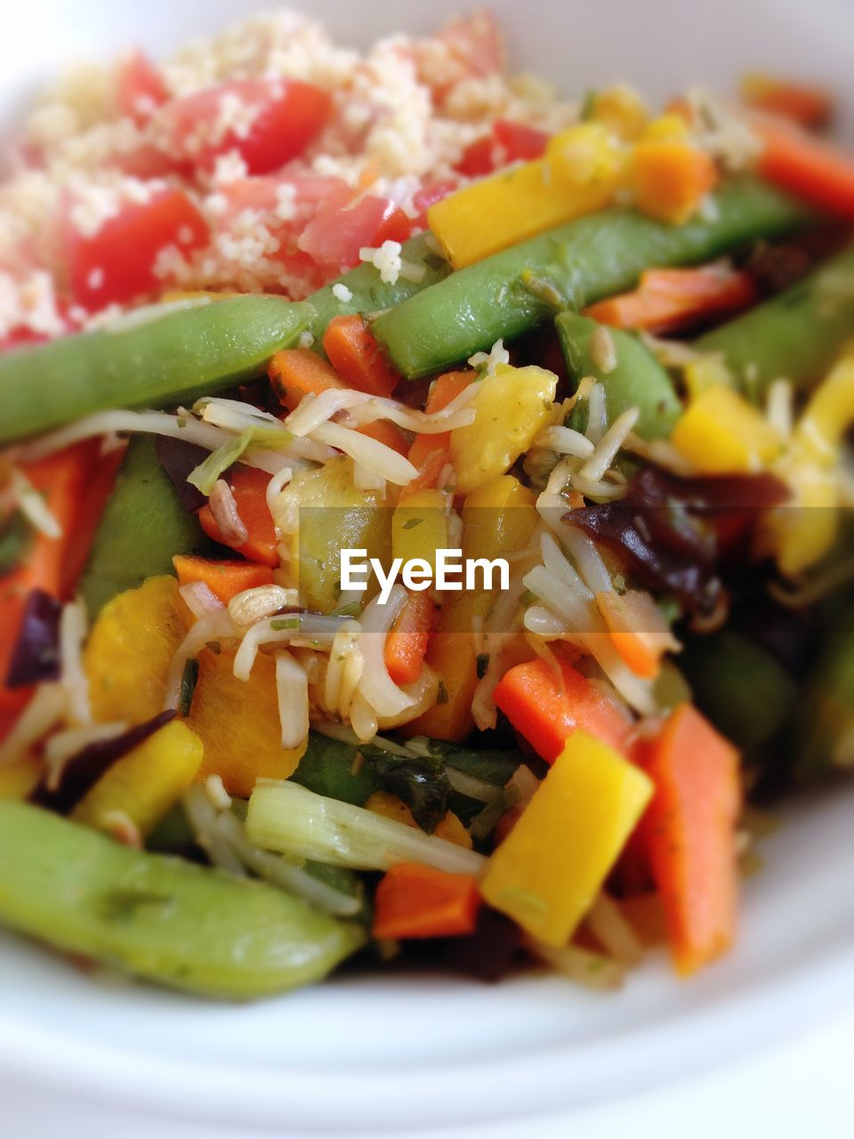 salad, vegetable, food, plate, food and drink, healthy eating, close-up, freshness, no people, indoors, ready-to-eat