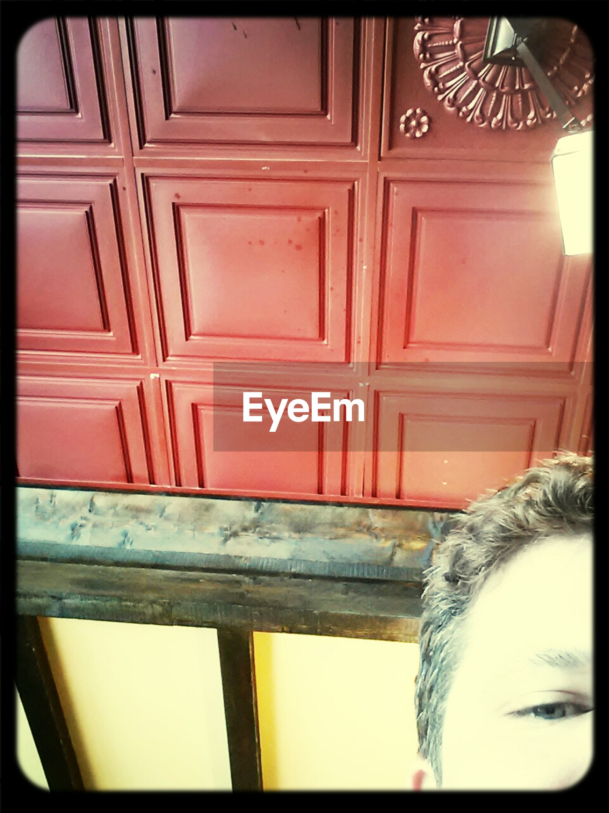 transfer print, auto post production filter, built structure, door, architecture, close-up, indoors, building exterior, wood - material, house, protection, part of, closed, window, safety, red, day, home interior, no people